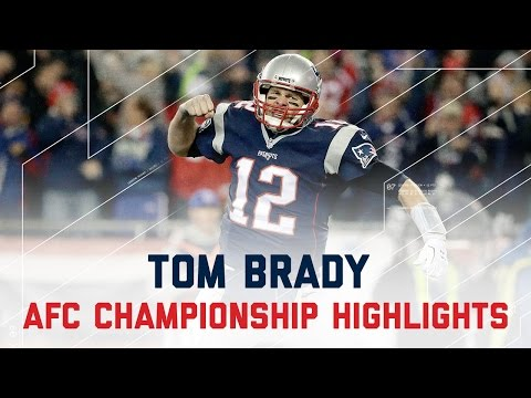 Tom Brady Comes Through for 384 Yards & 3 TDs! | Steelers vs. Patriots | AFC Championship Highlights
