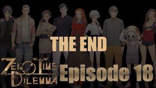 Zero Time Dilemma - FINAL DECISION - THE END - Part 18 - BLIND