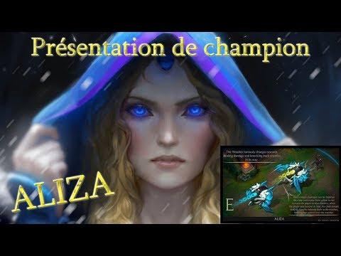 Présentation de ALIZA [FAN MADE] - League of Legends