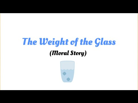 Weight of the Glass a Short Story