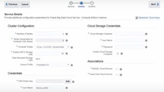 Get Started with Oracle Big Data Cloud Service - Compute Edition video thumbnail