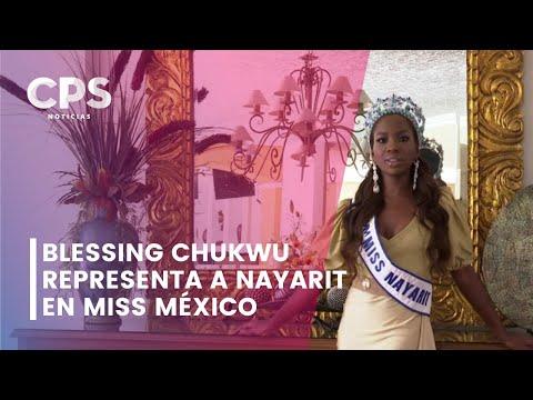 joven de San Blas, la primera mujer afromexicana en representar al estado de Nayarit en Miss México