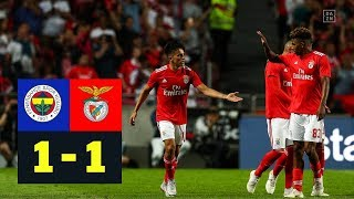 Benfica dank Gedson Fernandes' Tor weiter: Fenerbahce - Benfica 1:1 | Highlights | CL-Quali | DAZN