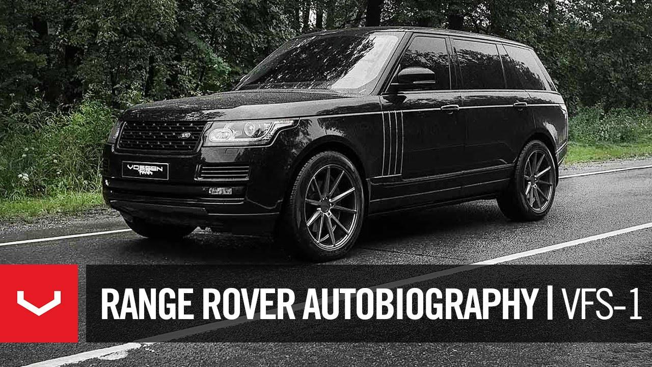 Range Rover Matte Black >> Range Rover Autobiography LWB | Vossen VFS-1 | Vossen ...