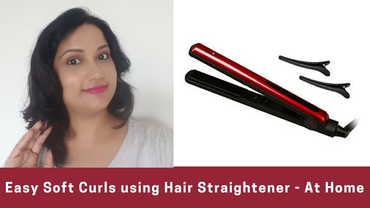 Easy Loose Curls With Straightener How To Curl Your Hair