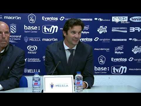 Rueda de prensa de Santiago Solari tras el UD Melilla vs Real Madrid (0-4)