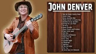 John Denver Greatest Country Hits (Full Album) - John Denver Best Songs Collection