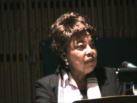 Dorothy Cotton address at 2009 Finger Lakes Bioneers, Part 1