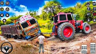 Real Tractor Pulling Simulator 🚜💥 Gameplay 430√ || Best Tractor Games || Flash Gameplay screenshot 5