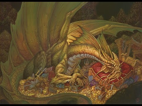 Dungeons and Dragons Lore : Gold and Silver Dragons - YouTube