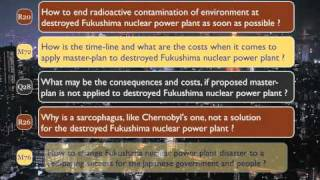 Fukushima nuclear power plant disaster: Solution (part 1 of 3)