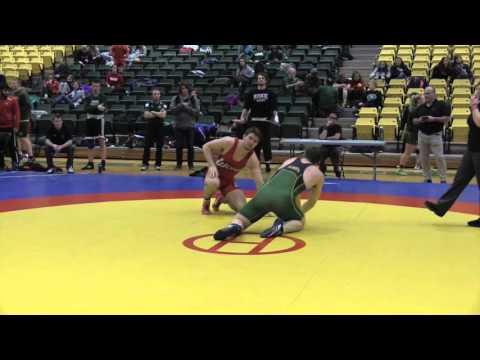 2016 Golden Bear Open: 100 kg Finn Higgins vs. Samson Abbott