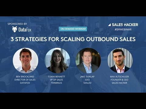 3 Strategies for Scaling Outbound Sales