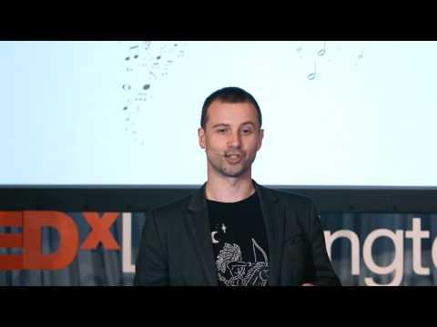 From fear to fair trade music | Brendan Poynton | TEDxLeamingtonSpa