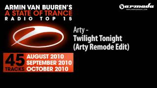 Arty - Twilight Tonight (A State Of Trance Top 15 Preview)