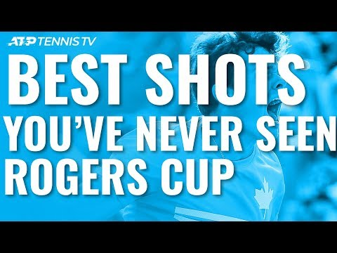 Best Shots You've Never Seen At The Rogers Cup!