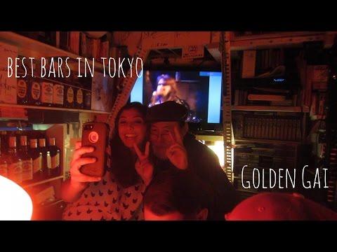 BEST BARS IN TOKYO- GOLDEN GAI // Vlog