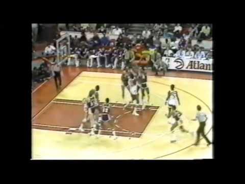 1983 Regular Season LA Lakers@Atlanta HIGHLIGHTS