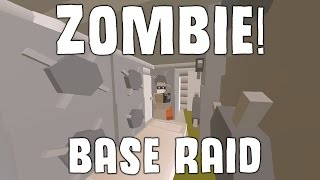 ZOMBIE RAIDS BASE! - Unturned Vanilla Base Raid (Hawaii)