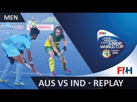 Australia V India - Men's Hockey Junior World Cup Lucknow 2016