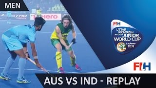 Australia v India - Men's Hockey Junior World Cup Lucknow 2016