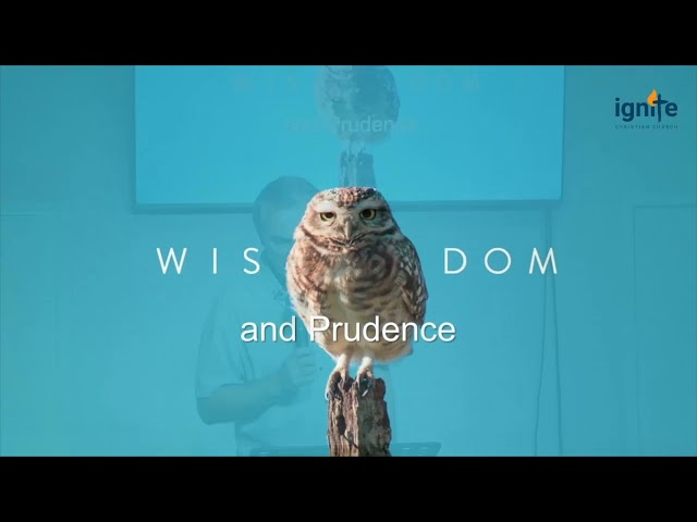 Ps Darin Browne - Wisdom and Prudence