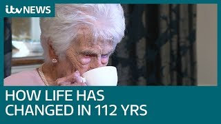 UK's oldest person Grace Jones celebrates 112 years | ITV News