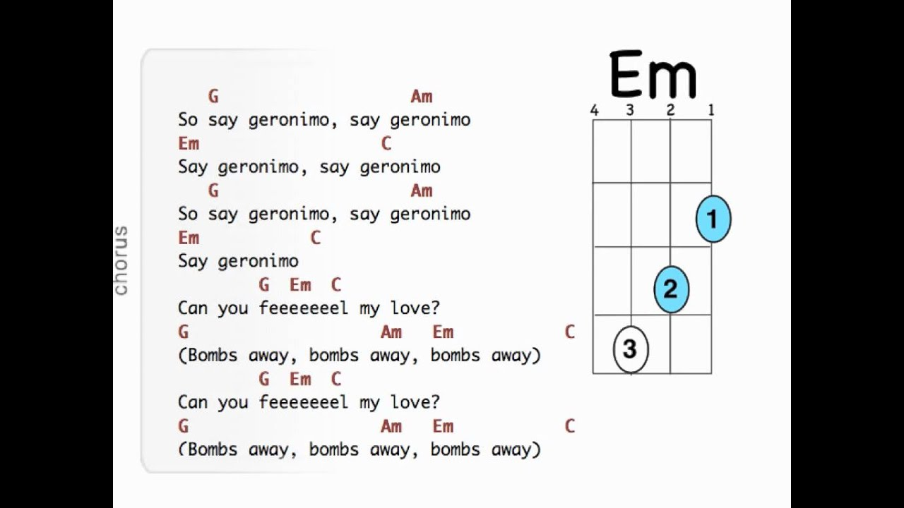 As long as you love me guitar chords