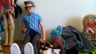 New Yard Sale Toy Haul! Spy Squad Ken Doll, Barbie Clothes, Animal Figures