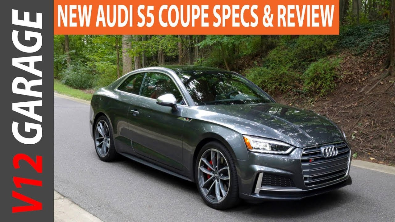 2018 Audi S5 Coupe Interior Review and Colors - YouTube
