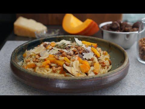 risotto-d'orzo-d'automne-potimarron-marrons-facile