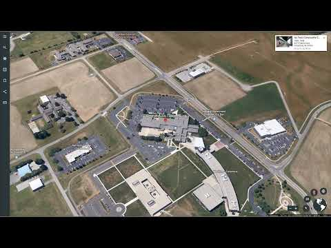 Ivy Tech Community College Columbus Google Earth Flyby