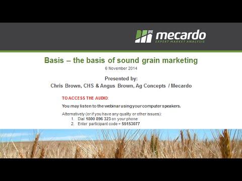 2014-11-06 WEBINAR - Grain market outlook
