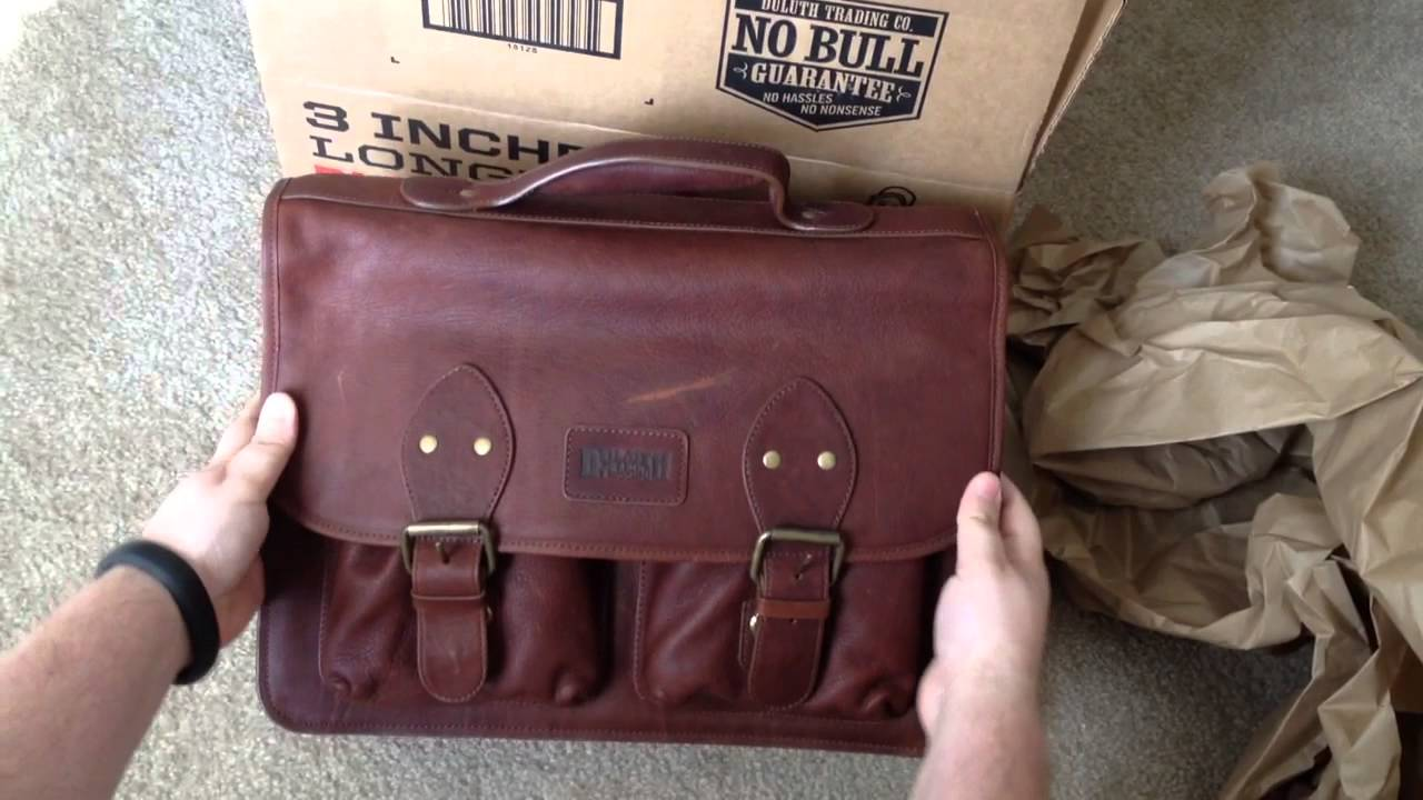 3d63208bba992 Bashful Billionaire s Briefcase From Duluth Trading Company Unboxing 3-8-14  - YouTube