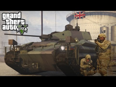 Army Patrol & Police in Los Santos - GTA 5 LSPDFR Special - The British way #53
