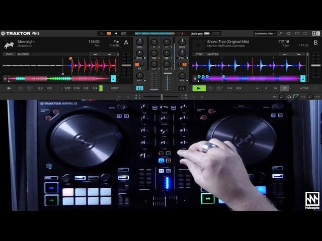 DJing with the Traktor Kontrol S2 Mk3