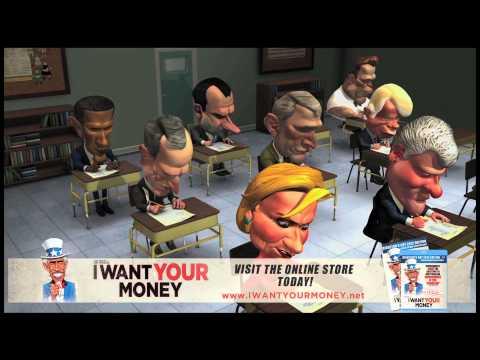 Reagan Schools Obama in Social Economics 101 - I Want Your Money Movie Clip