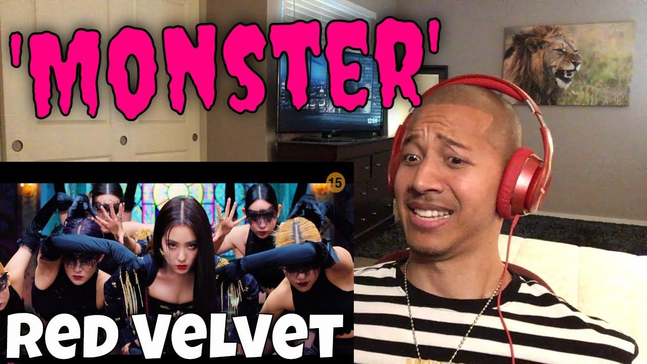 Red Velvet - IRENE & SEULGI 'MONSTER' MV Reaction | WHAT IS HAPPENING??