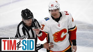 Sam Bennett Knows Flames Messed Up Last Year, Will Learn From Adversity | Tim and Sid
