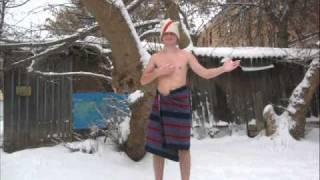 Русские в бане