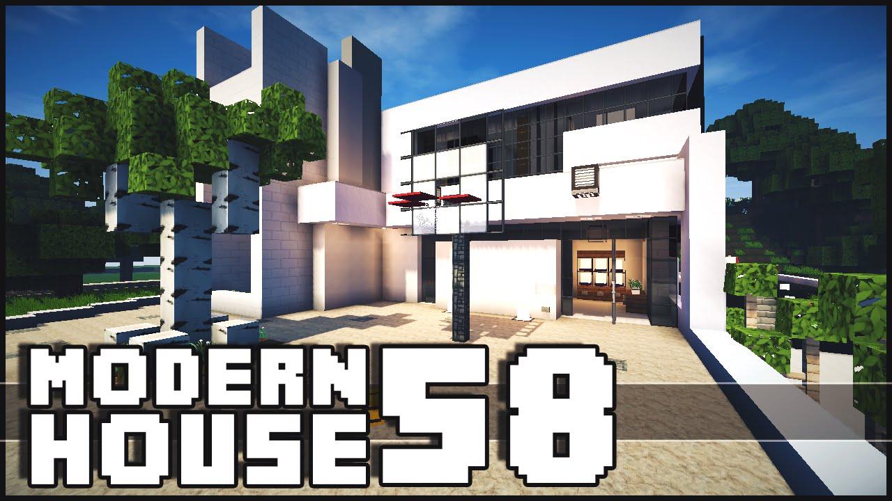 Minecraft Modern House 58 YouTube