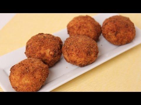 Homemade Rice Balls ( Arancini ) Recipe - Laura Vitale - Laura in the Kitchen Episode 452