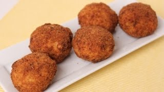 Homemade Rice Balls ( Arancini ) Recipe - Laura Vitale - Laura In The Kitchen Episode 452