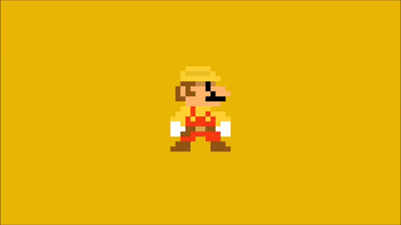 Super mario maker title theme 8 bit cover youtube - Pictures of 8 bit mario ...