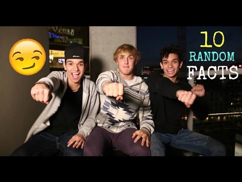 10 RANDOM FACTS ABOUT US! W/ Jake Paul