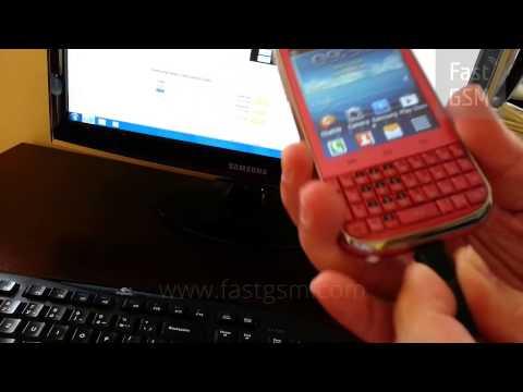 Unlock Samsung B5330 Galaxy Chat By USB - HowTo