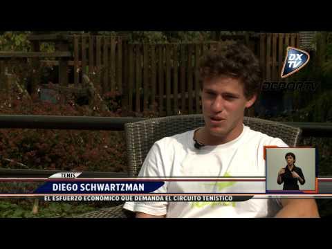 DXTV NOTICIAS: NOTA EXCLUSIVA CON DIEGO SCHWARTZMAN