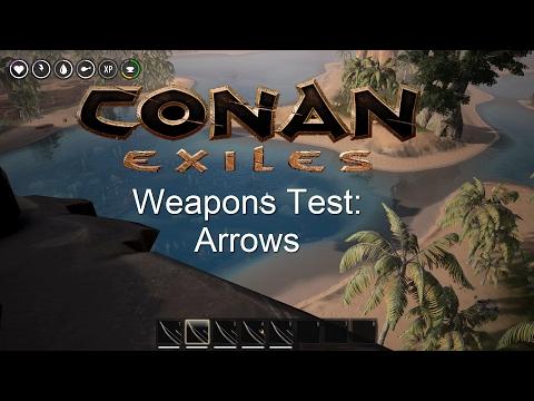 CONAN EXILES ARROWS - cinemapichollu