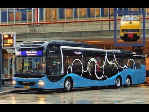 De nieuwe Keolis 'AllGo' bussen in Almere!