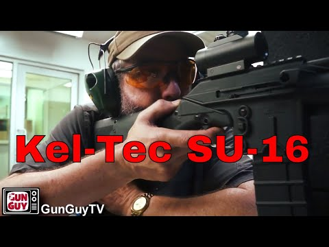 Another California legal defensive rifle - Kel-Tec SU-16CA
